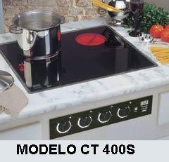 Cooktop elétrico jung ct 400s