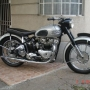 VENDO MOTO TRIUMPH  500 SPEED TWIN AÑO 1949