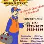 Eletricista - Instalações em Geral - PJS HIDRO ELÉTRICA - (11) 3531-2017