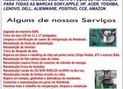 Assistência técnica notebook, netbook curitiba a domicilio