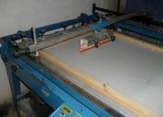 Vendo uma impressora serigrafica semi-automatica de grande formato, marca solfort