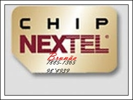 Chip nextel sem comprova??o de renda!!!!