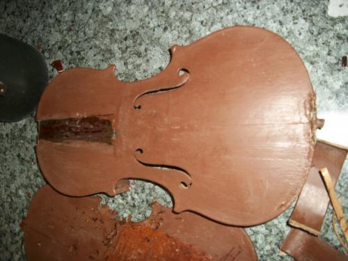 Violino quebrado
