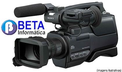 Filmadora sony hvr-hd1000 hd1000 grava dv e hdv alta definição! pronta entrega!