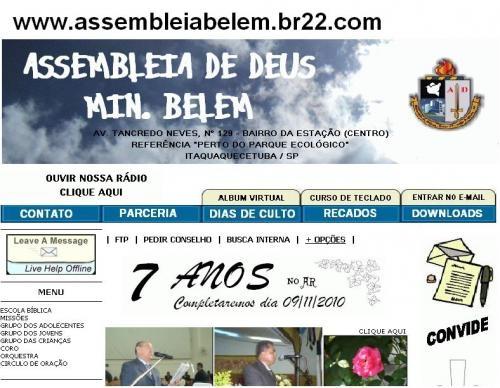 Assembleia de deus no brasil - são paulo - brasil
