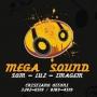 MEGA SOUND som - iluminação - telão