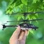 Helicóptero Mini Airwolf 8017 3-canais Pronta Entrega