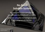 No-Break Solution - Manutenção de PC's e redes.