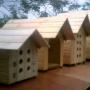 Casinha para Gato, em madeira