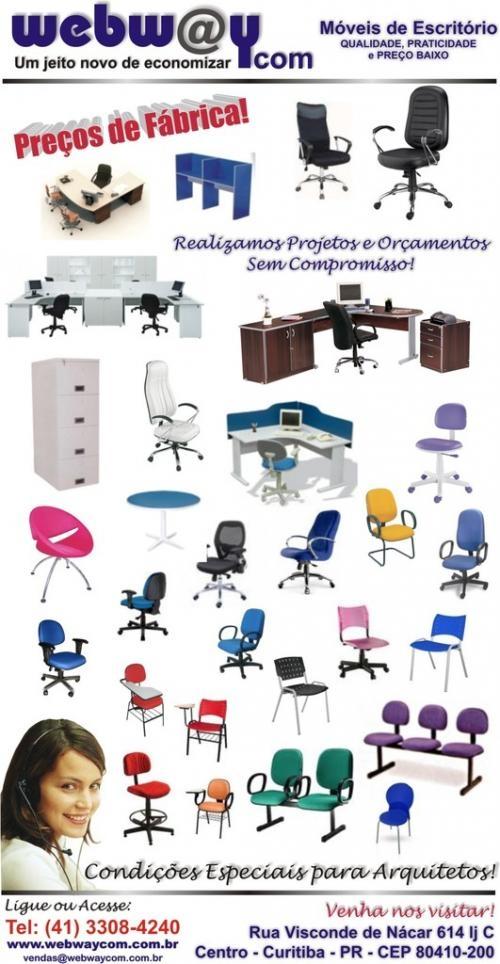 Vendas de móveis escritório,escolares e aços