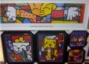 quadros c reproducoes de romero britto em oferta ART REFLEXUS-CAP-SP-VILA MARIANA-