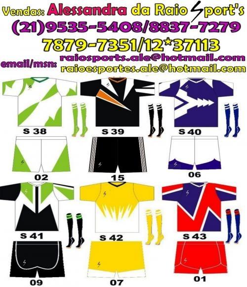 8744e8e833 Uniformes de futebol ale 21 9535-5408 em Rio de Janeiro - Esportes   Roupa  esportiva