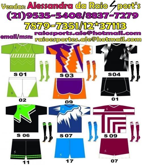 652a8ef97e Fardamentos de futebol - ale 21 9535-5408 7879-7351 12 37113 em ...