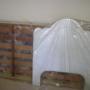 Mini Cama Branca com o colchão