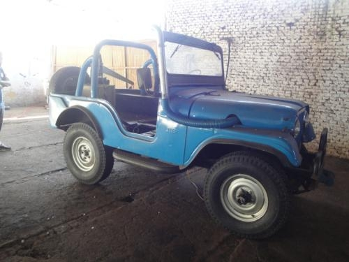 Vendo jeep willys urgente r$8.000
