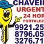 AGORA CHAVEIRO 24 HORAS FORTALEZA - 9921.2508 / 8796.0517