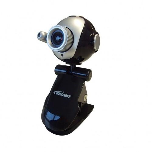 Webcam 1.3m pixels com microfone brinde fone de ouvido