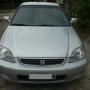 Honda Civic Lx 2000, Prata, cambio automático.