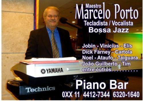 Piano bar com marcelo porto - contato-011 6320-1640 sampa