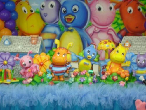 Decoracao de festa infantil parque dos sonhos