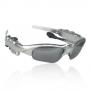 Óculos MP3 Player prata