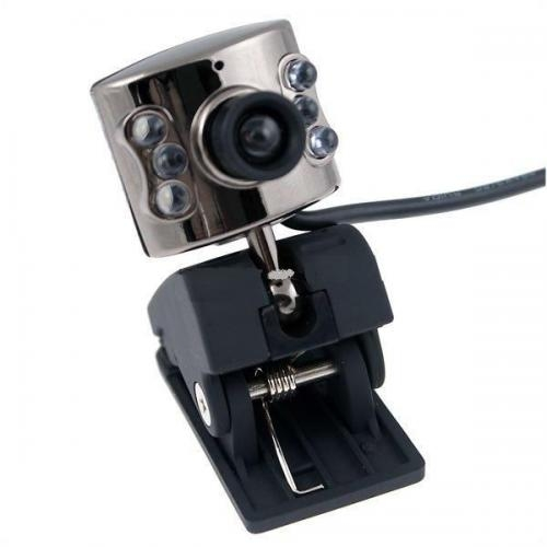 Webcam usb pc (300k pixel com 6-led