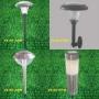 Luminárias para jardim abastecidas por energia solar