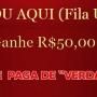 JÁ COMEÇOU! GANHE R$ 50,00 em tempo Recorde!