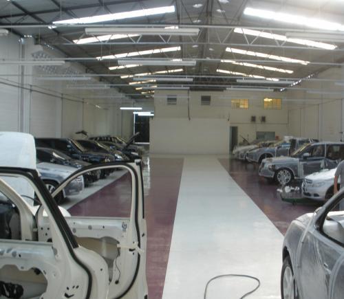 Manutenção de carros blindados