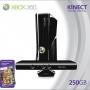 XBOX 360 250GB + KINECT + JOGO = R$1300,00 (na caixa e sem uso)