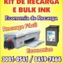 bulk ink hp instalamos adptamos em sua impressora economia 41 3081 0541