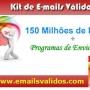 Confira na Internet - www.emailsvalidos.com Listas de E-mails Mais Atualizadas