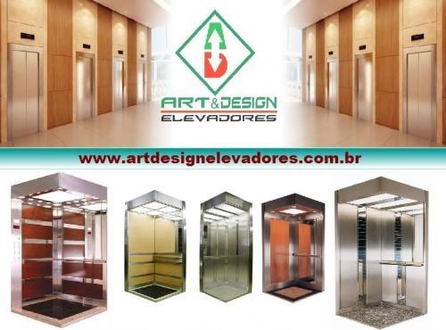 Art & design elevadores - reforma e decoração de elevadores