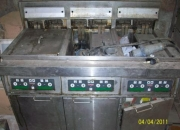 maquinario do Mc Donald's para lanchonetes e restaurantes.