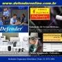 Defender - Segurança Eletrônica para Residências - Monitoramento 24 Horas