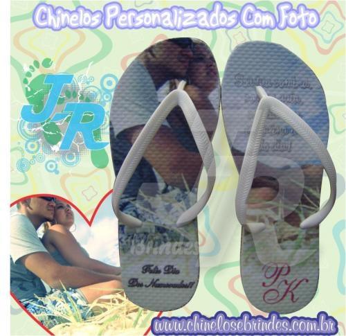 Fotos de Jr sandálias personalizadas para eventos 4