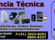 Assistência técnica especializada em câmeras digitais -celular -video game