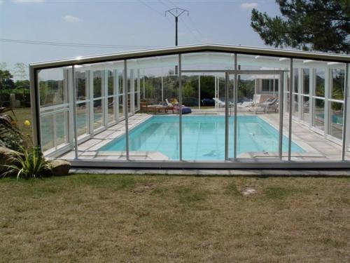 Fotos de Cobertura telescópica de piscina 2