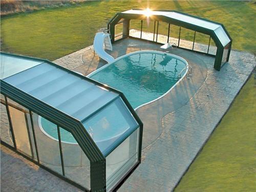 Fotos de Cobertura telescópica de piscina 3