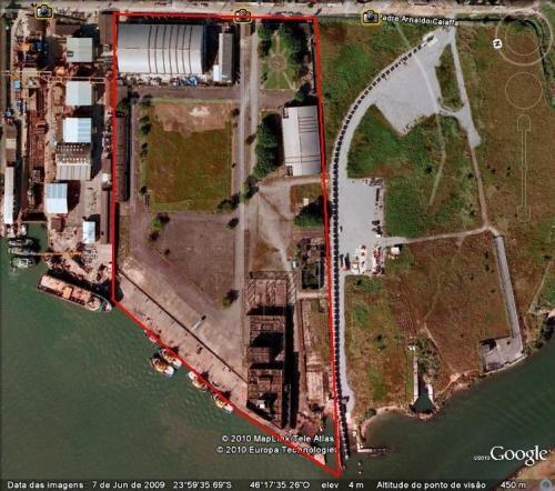 Área portuária - guarujá