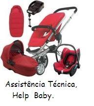 Assistencia tecnica de carrinhos de bebê( help baby) autorizada.