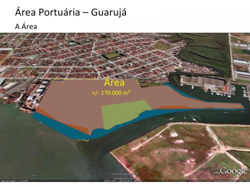 Áreas portuárias e retroportuarias