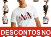 Armani Exchange Brasil Peru Lima Atacado Camisetas Camisas Accesorios