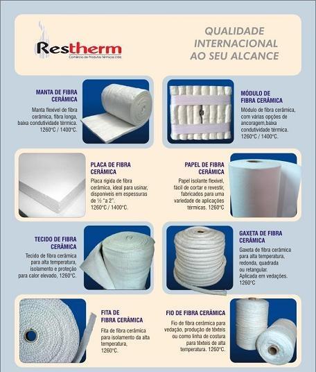 Fibra cerâmica