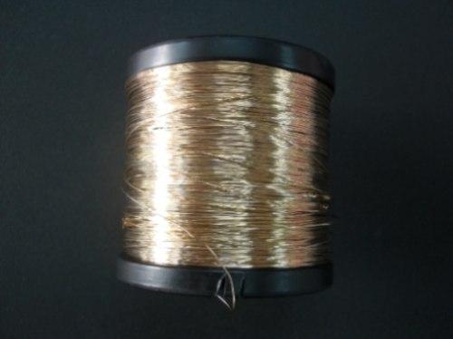 Arame dourado e prateado para bijouterias