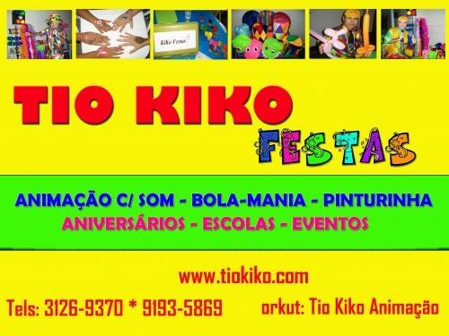 Animadores e recreadores festas infantis em niterói tio kiko (21) 9193-5869 / 3126-9370