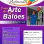 Curso de arte com Balões - com Eduardo Seiti