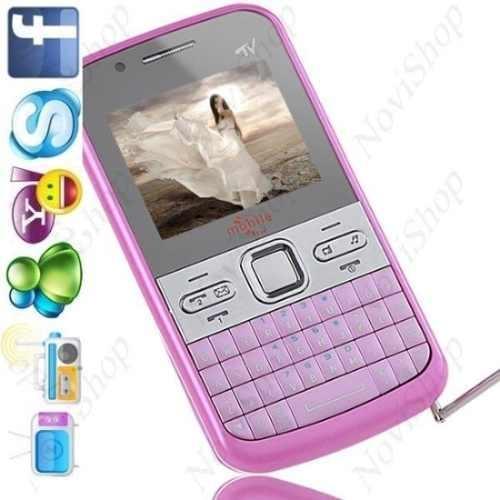 Fotos de Vendo celular q5+ rosa e branco com 4gb de memoria gratis 1