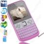 Vendo celular q5+ rosa e branco com 4gb de memoria gratis
