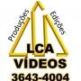 PASSAR FITAS VHS E SUPER 8 PARA DVD EM BH - LCA 3043-4004